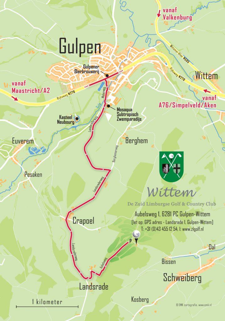 routekaart-golfclubwittem
