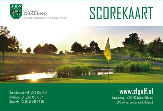 scorekaart-golfclubwittem